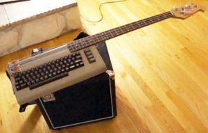 Pelimuusikoitten mielikuvituksella saatiin aikaan instrumentteja esimerkiksi näppäimistöstä.