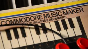 Commodore Music Maker oli helppo tapa harrastelijankin koittaa siipiään konemusiikin tekemisen saralla