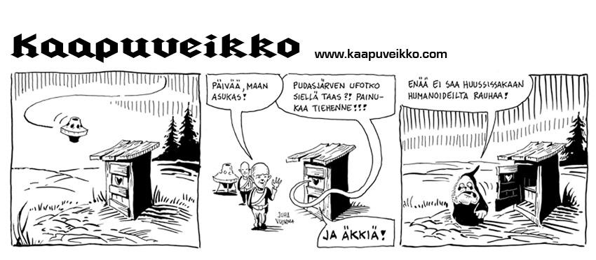 Kaapuveikko Sarjakuvastrippi