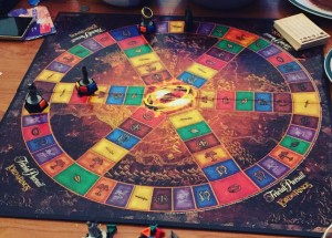 Lord of the Rings -versio Trivial Pursuitista.