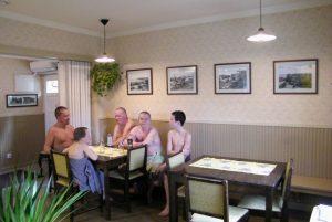 Rajaportin sauna, saunakulttuuri, saunakahvila, Rajaportti