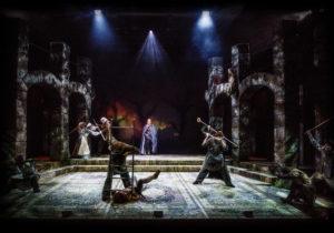 Robin Hoodin sydän, Turun Kaupunginteatteri, näytelmä, näyttämötaistelu, taistelukohtaus