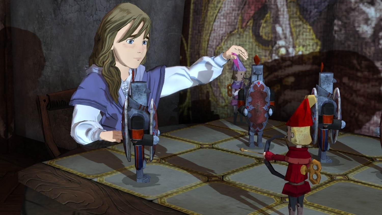 Kuningas Grahamin lapsenlapsi Gwendolyn oppii Daventryn historiaa kuuntelemalla isoisänsä tarinoita.