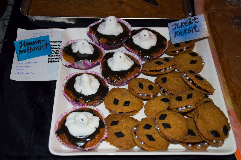 Haamumuffinsseja ja Ilkeitä keksejä.