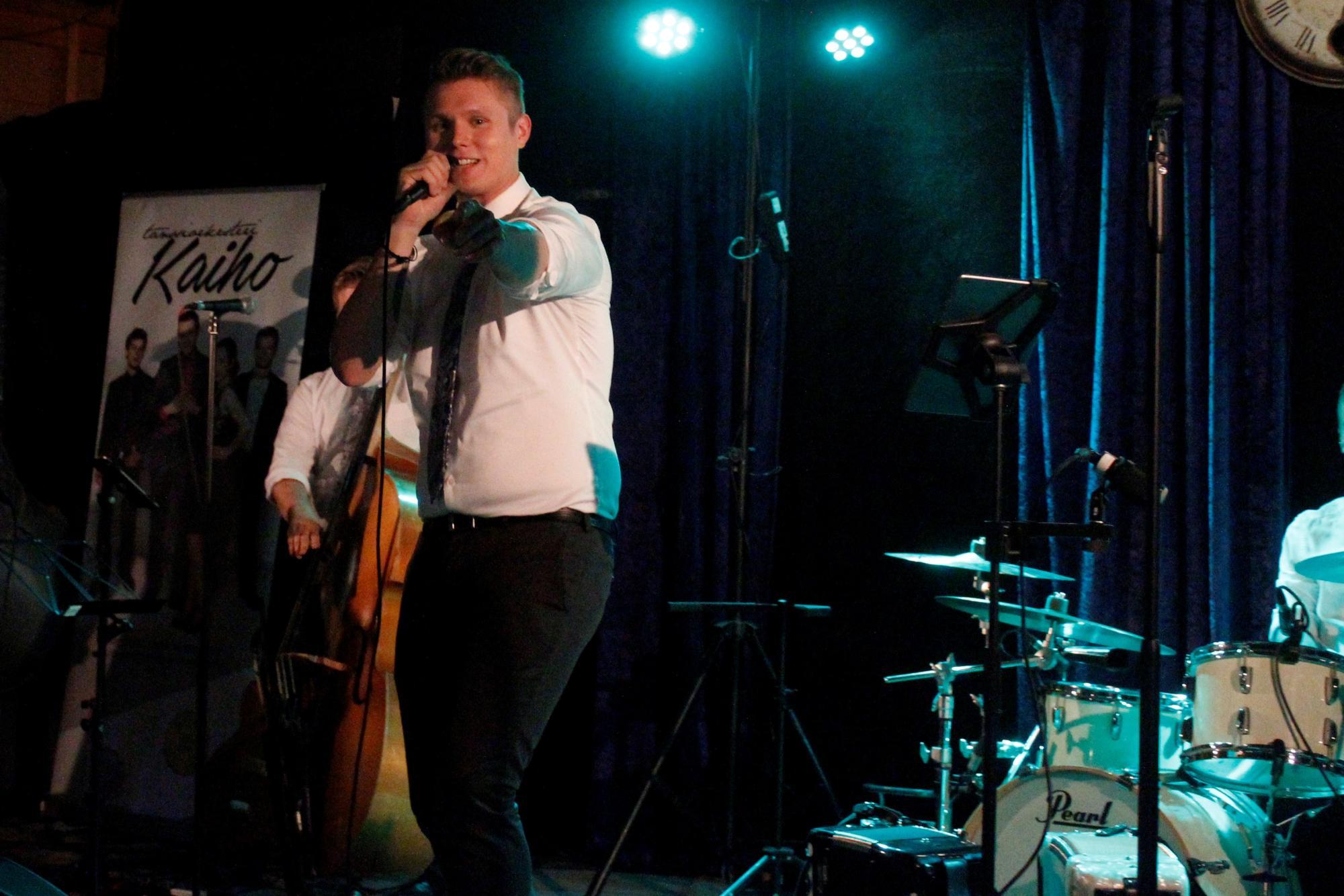 Tuomas Salminen ja Kaiho edustavat nuorta, rempseämpää tanssimusiikin sukupolvea.