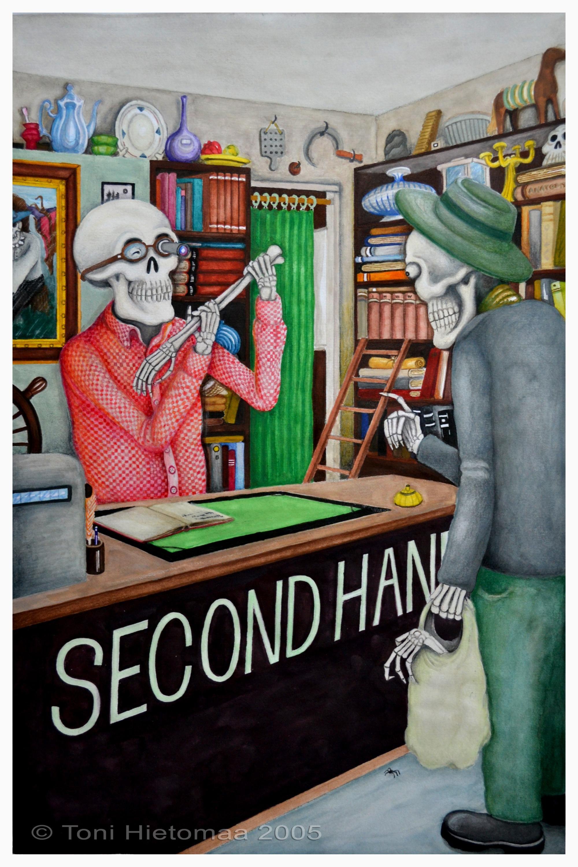 Arkiluurangot - Second Hand Store (2005)